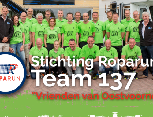 Marketingmadame sponsort Roparunteam 137